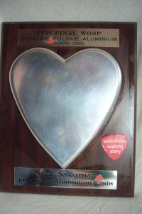 serce z ostatniego polskiego aluminium