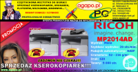 Kserokopiarka mono Nashuatec Ricoh MP2014AD RADF
