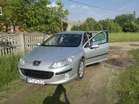 Peugeot 407, 2.0 HDI 2005/06, 6-biegów,navi, xenon ,prywatny