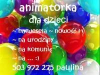 ANIMATORKA ZABAW DZIECIIĘCH na wesela, komunię, urodziny...