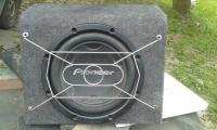 Głośnik PIONEER TS-W306DVC + skrzynia
