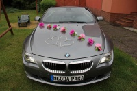 AUTO do ŚLUBU BMW 6 e64 cabrio - ślub, sesje zdjęciowe