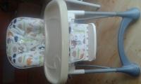 Krzesełko do karmienia KinderKraft