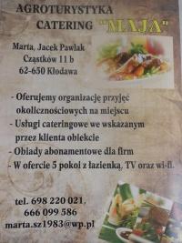 Agrotutystyka-Catering Maja