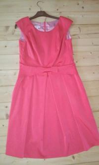 Sukienka malinowa rozmiar 42