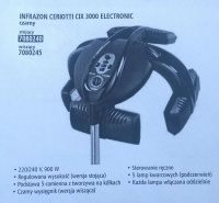 Infrazon ceriotti cix 3000 electronic