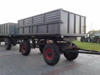 Przyczepa ciężarowa rolnicza wywrotka 6 T