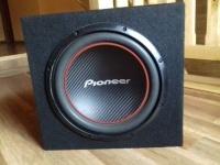 Skrzynia basowa Pioneer + wzmacniacz