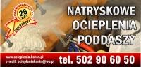 OCIEPLANIE PODDASZY, NATRYSK PIANY PUR