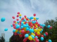 Hel do balonów koło balony z helem koło brama balonowa led