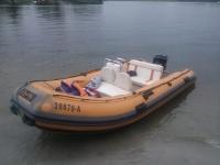 WyNaJeM Ponton RIB Nautica 420 50Km - Cała Polska
