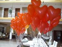 Dekoracje balonwe pełna obsługa imprez balony z helem bramy