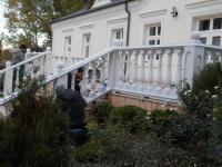 Tralki betonowe balustrada poręcz balkonowe taras balkon