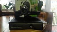 Xbox 360 dysk 500gb +kinect+sluchawki+14 gier cena 900 pln