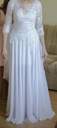 Piękna suknia ślubna + welon gratis
