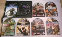 Gra Star Wars The Force Unleashed + 6 gier tytuły na foto