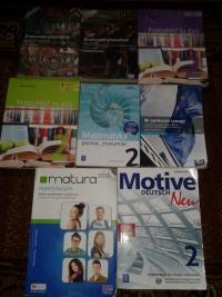 Sprzedam podręczniki do kl 2 liceum, technikum