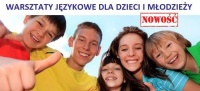 Warsztaty językowe dla dzieci i młodzieży!!!