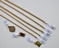 Złoty łańcuszek, pancerka 14.8g pr.585.14K