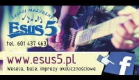 *** Zespół Esus5 !!! 100% power +100% live = SUKCES ***