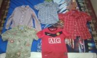 Sprzedam koszule oraz spodnie  dla chłopca rozmiar 8-10 lat