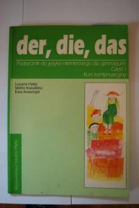 Der, die, das Podręcznik do języka niemieckiego dla gimnazju