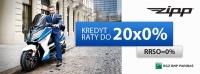 Ostatnia szansa RATY 0%  na skutery motocykle ZIPP   RRSO=0%
