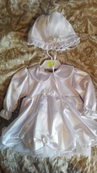 sukienka do chrztu NOWA