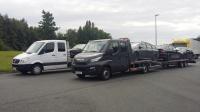 Transport samochodów osobowych i dostawczych,itp.