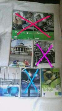 Sprzedam podręczniki do technikum/liceum
