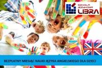 BEZPŁATNY miesiąc nauki j.angielskiego dla dzieci 5-7lat!