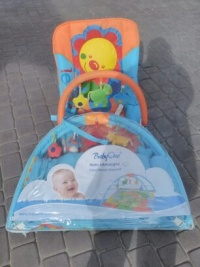 leżaczek,mata edukacyjna ,wózek spacerowy