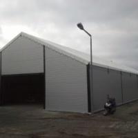 Konstrukcja stalowa 12,70 m. kratownica dachowa hala wiata