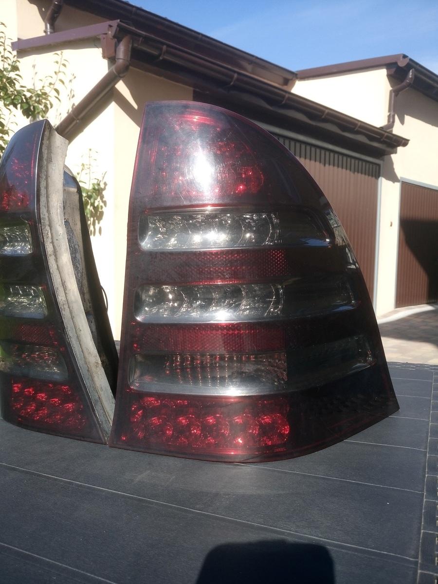 og oszenie lampa led ty prawa lewa mercedes w203 kombi lift. Black Bedroom Furniture Sets. Home Design Ideas