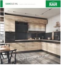 KAM Kuchnie - KAMDUO ML - Najlepsza cena!!!