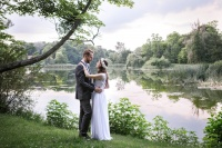 Klimatyczna fotografia ślubna