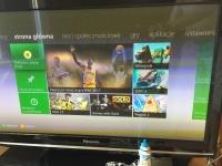 Konsola Xbox 360 , Kinect oraz pad.