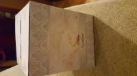 Pudełko na koperty wstążki