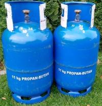 Butle gazowe do wózka widłowego (widlaka). Propan Butan 11kg