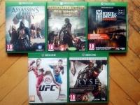 Xbox one gry na sprzedaż zamianę