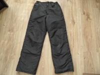 Active spodnie narciarskie czarne narciary ciepłe 146-152