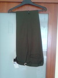 Wysprzedaż   niedrogo nowe spodnie garniturowe