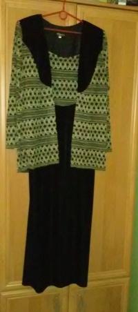 suknia dwu częściowa