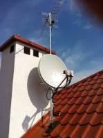 Montaż anten satelitarnych, TV naziemnej, komputery, serwis