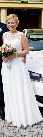 Tanio sprzedam suknię ślubną NIKOLLA VIOLA PIEKUT