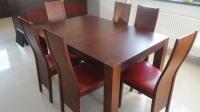 Stół, krzesła + 2 obrazy z ikea