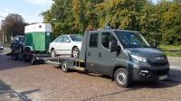 Transport samochodów osobowych i dostawczych,mszyn