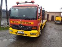 transport maszyn pomoc drogowa