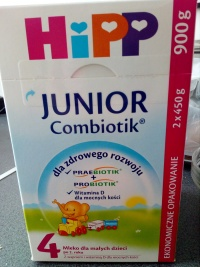 Mleko Hipp Combiotik 4 900g
