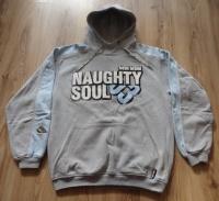 Bluza z kapturem NAUGHTY SOUL skate młodzieżowa